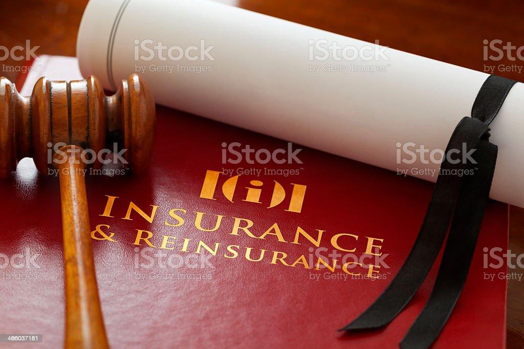 Insurance & Reinsurance Law stock photo