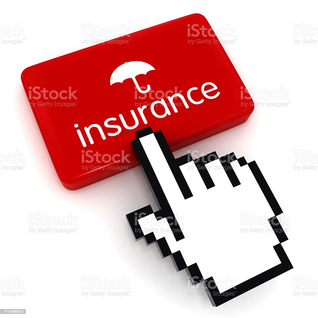 Insurance risk protection stock photo