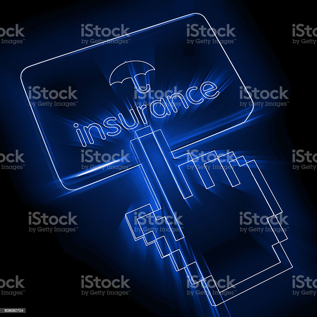 Insurance risk protection security stock photo