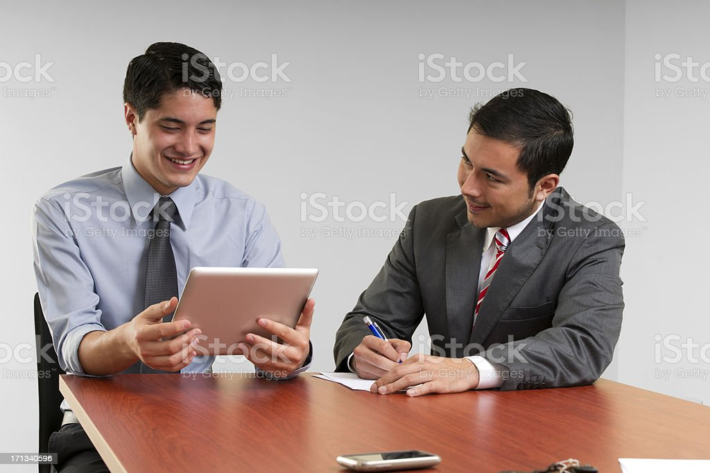Insurance Sales Presentation stock photo