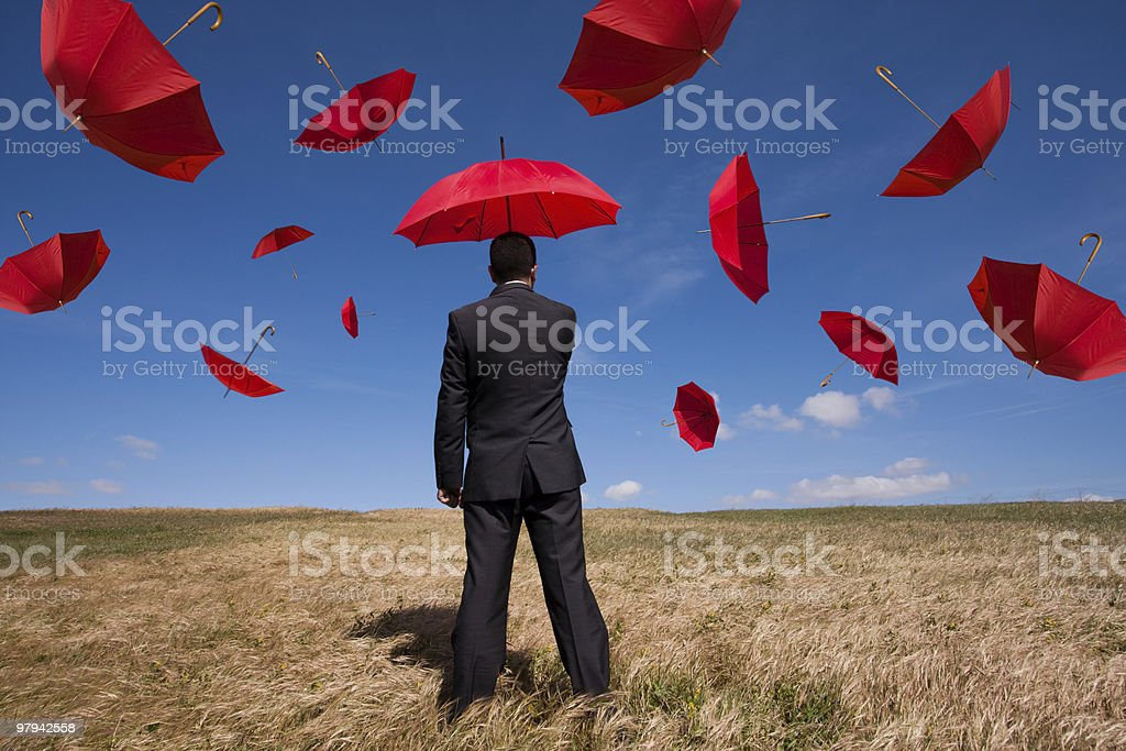 Insurance solution stock photo
