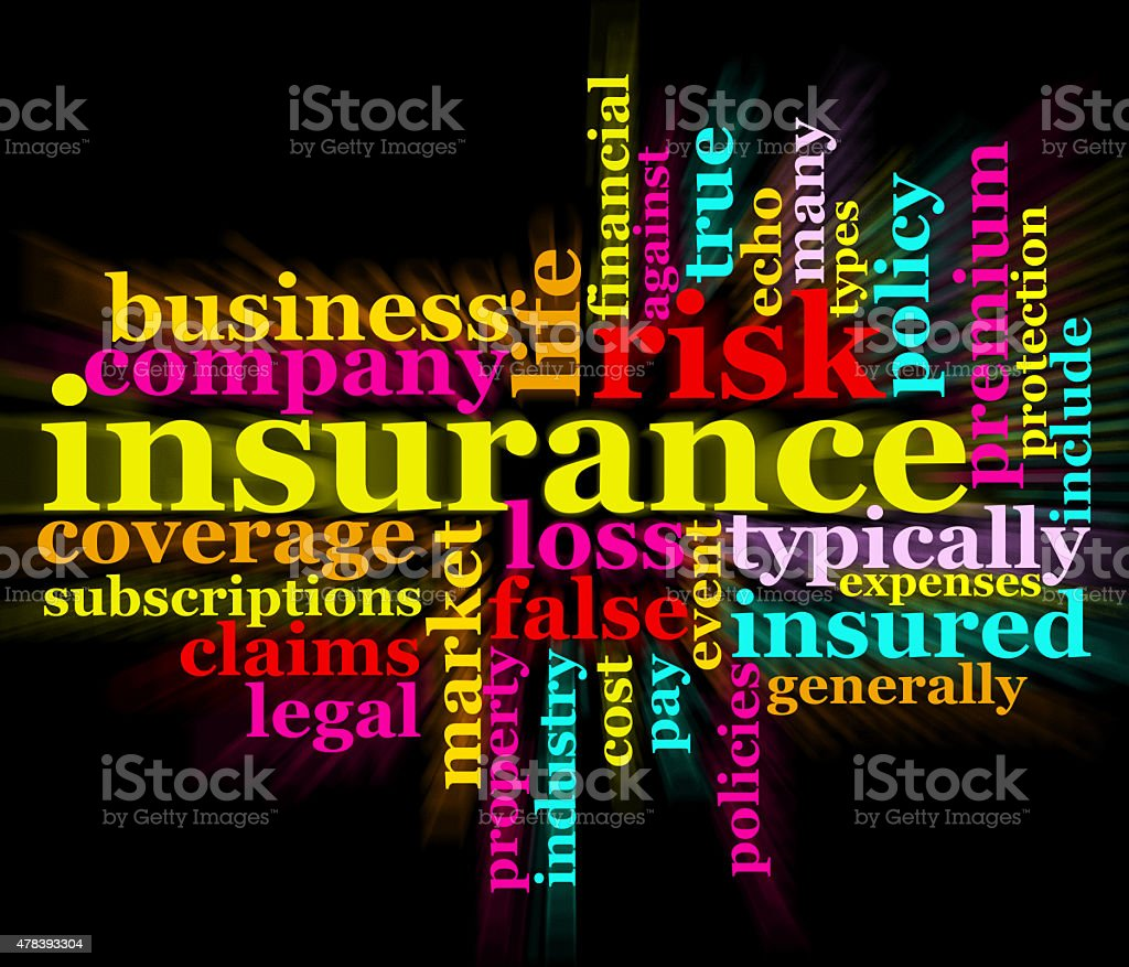 insurance,business,risk,policy,company,premium wordclouds stock photo