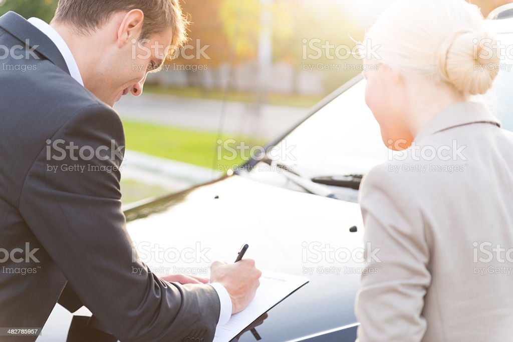 Insurence policy royalty-free stock photo