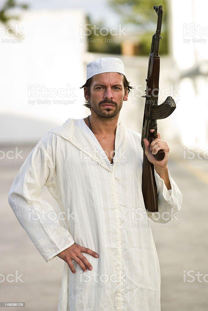 Insurgent stock photo