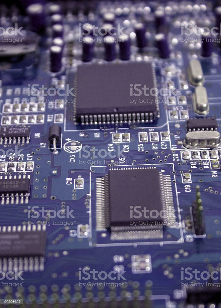 Integrated circuit 3 royalty-free stock photo