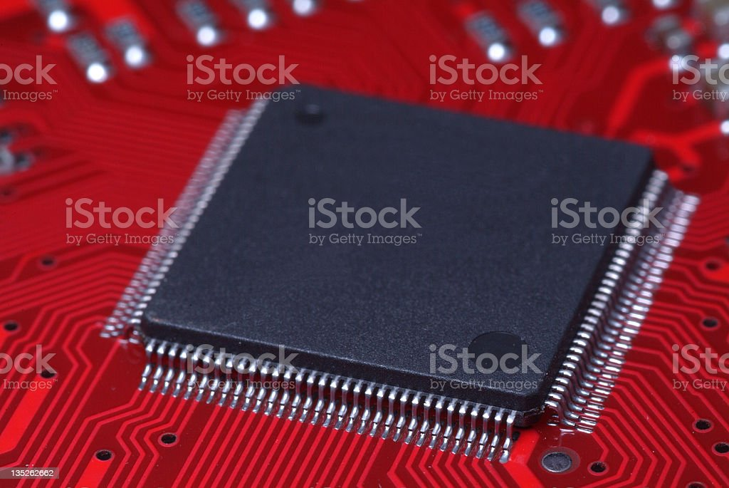 Integrated Circuit royalty-free stock photo