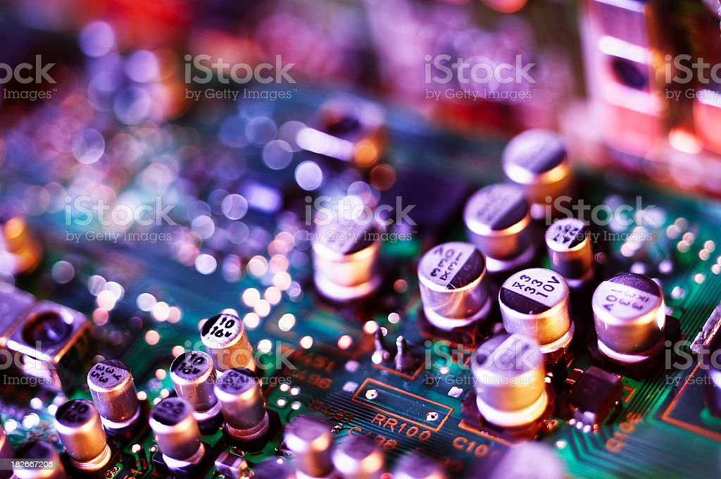 Integrated Circuitboard stock photo