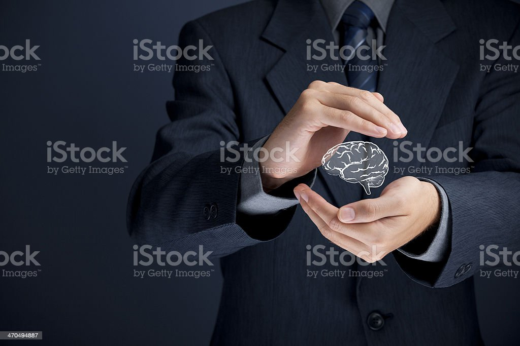 Intellectual property protection royalty-free stock photo