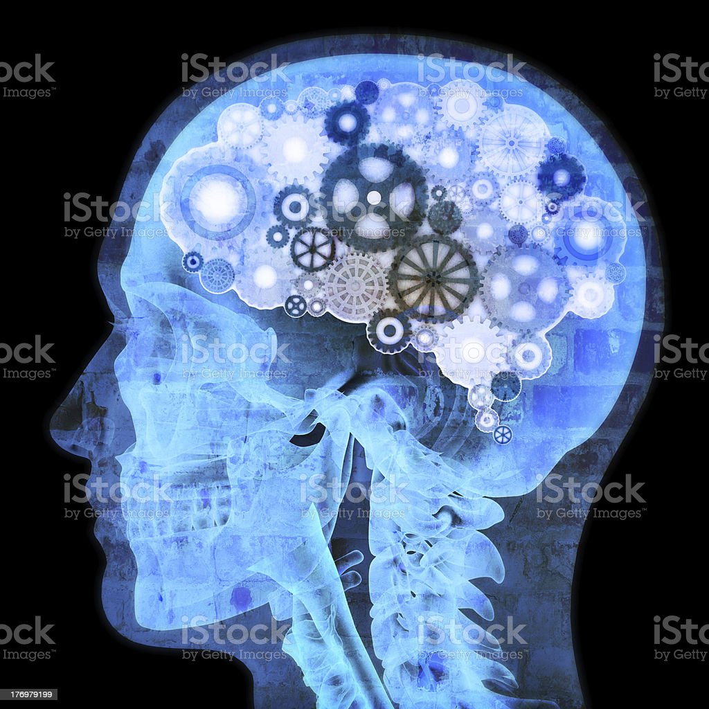 Intellectual thinker stock photo