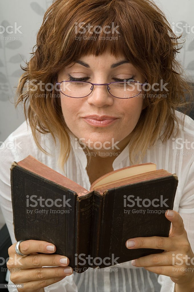 intellectuel women royalty-free stock photo