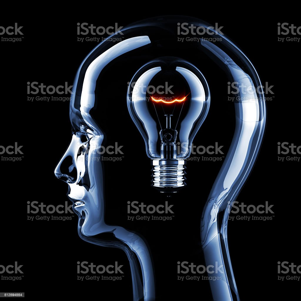 Intelligence Concept stock photo