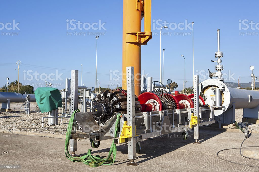 Intelligent PIG preparation for pipeline control stock photo