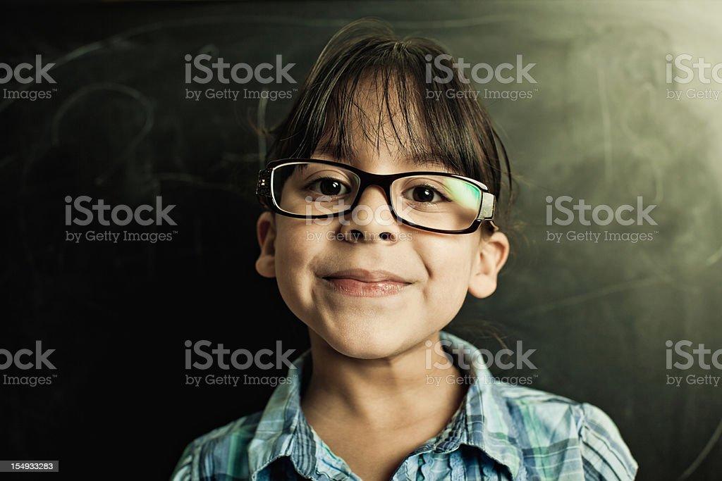 intelligent student royalty-free stock photo