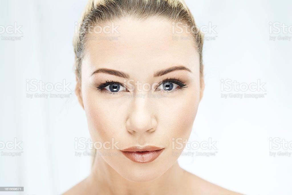 Intense beauty shot royalty-free stock photo