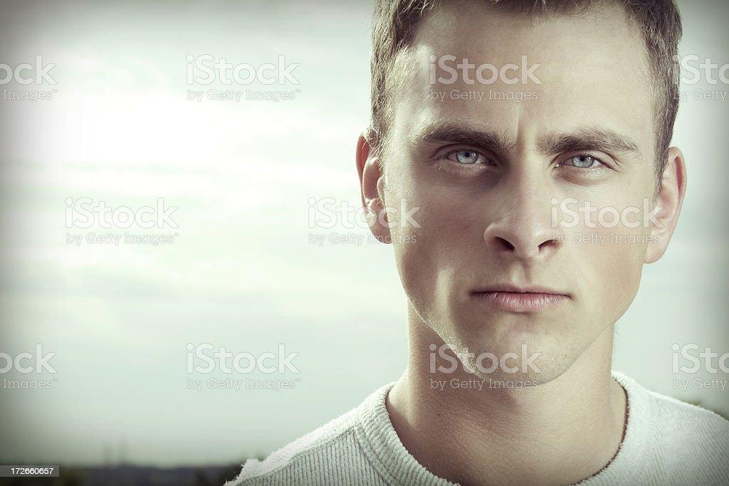 Intense Eyes stock photo