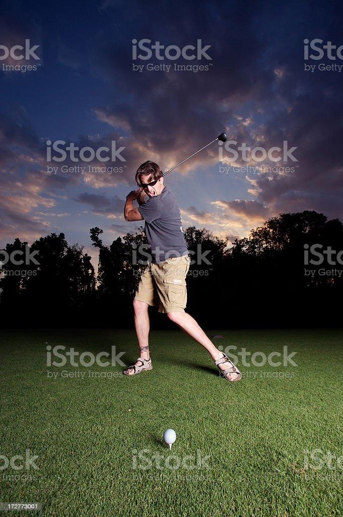 intense Golf #4 royalty-free stock photo