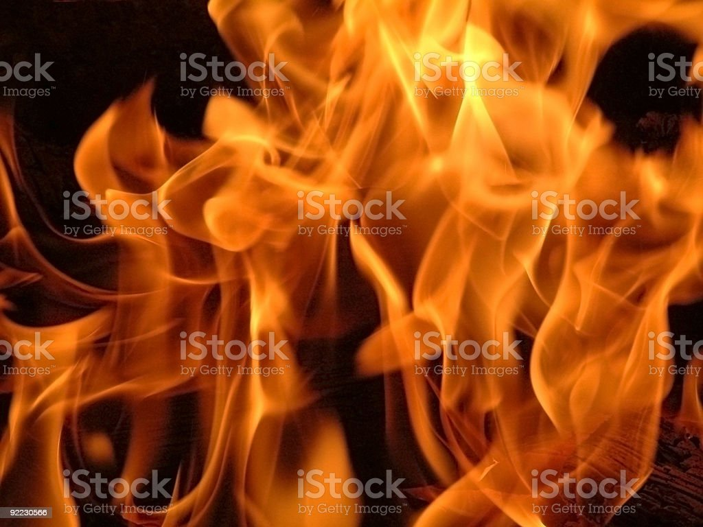 intense heat royalty-free stock photo