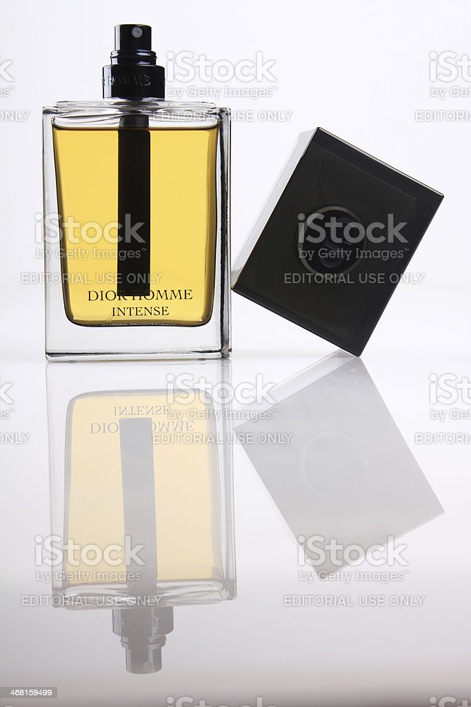 DIOR - Homme Intense stock photo