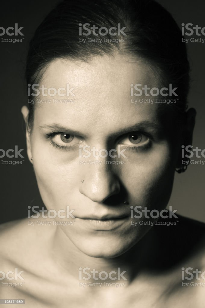 intense royalty-free stock photo