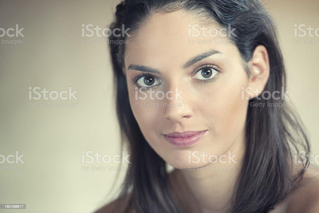 Intense Portrait (XXXL) royalty-free stock photo