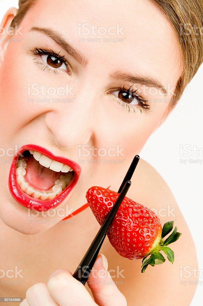 Intense Strawberry stock photo