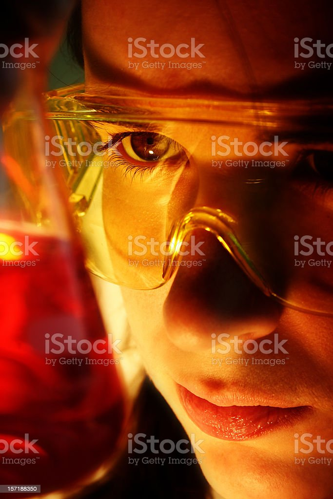 Intensity of science royalty-free stock photo