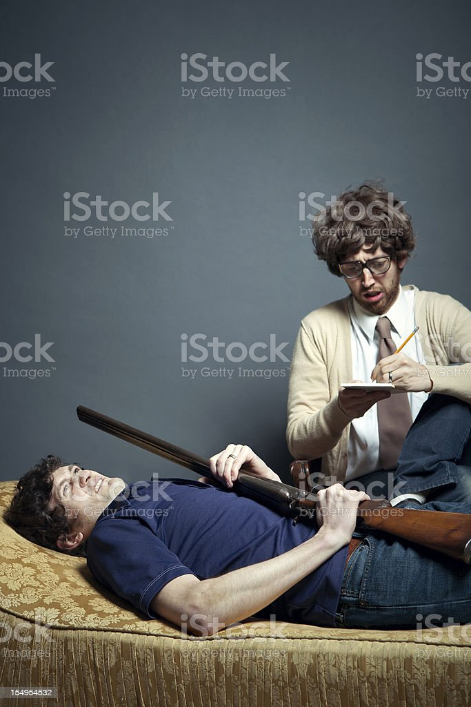 Intensive Therapy Counseling Session stock photo