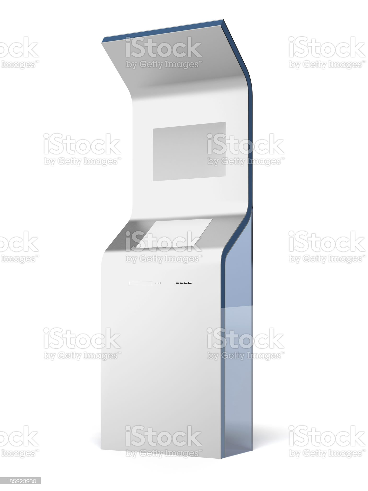 Interactive stand royalty-free stock photo