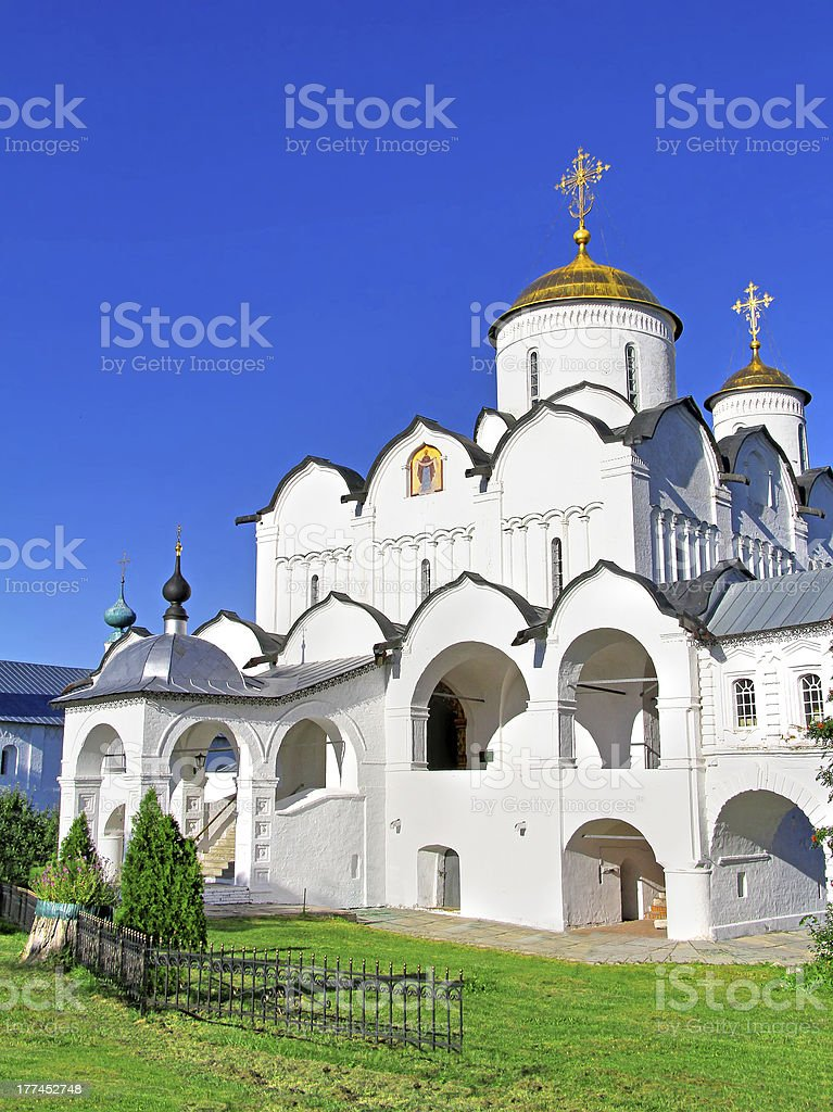 Intercession Nunnery in Suzdal, Russia royalty-free stock photo