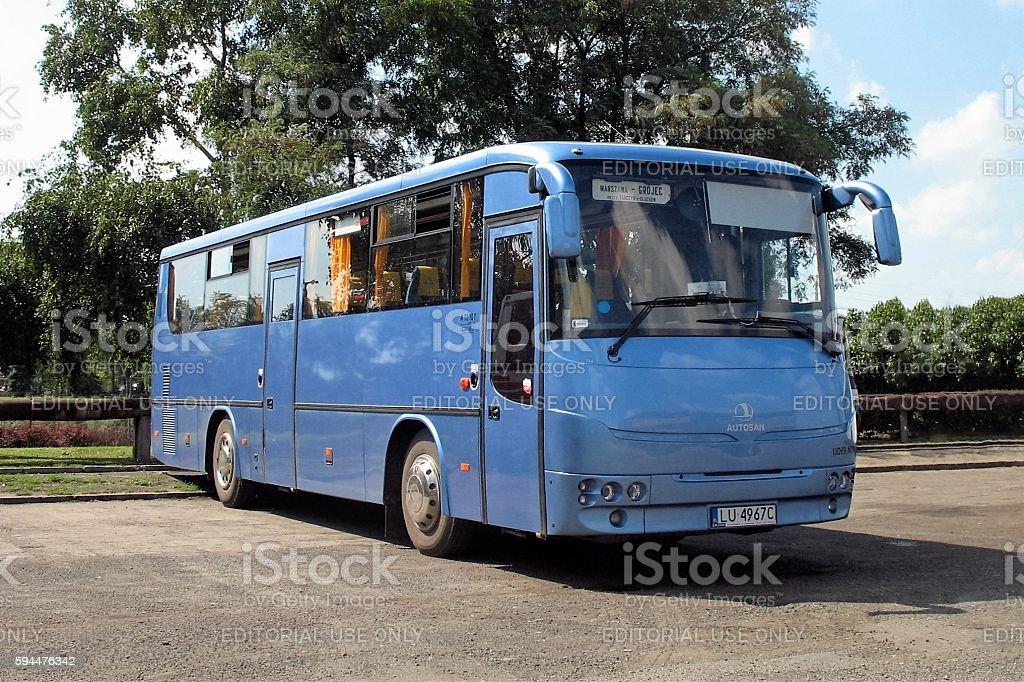 Intercity bus Autosan A1010T Lider stock photo