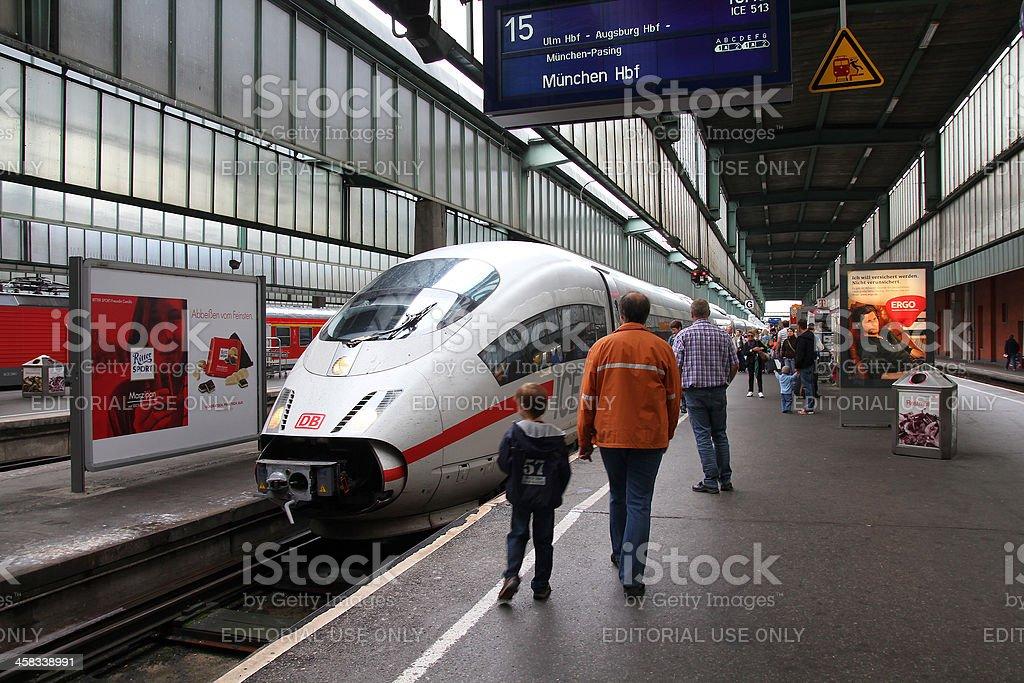 Intercity Express royalty-free stock photo