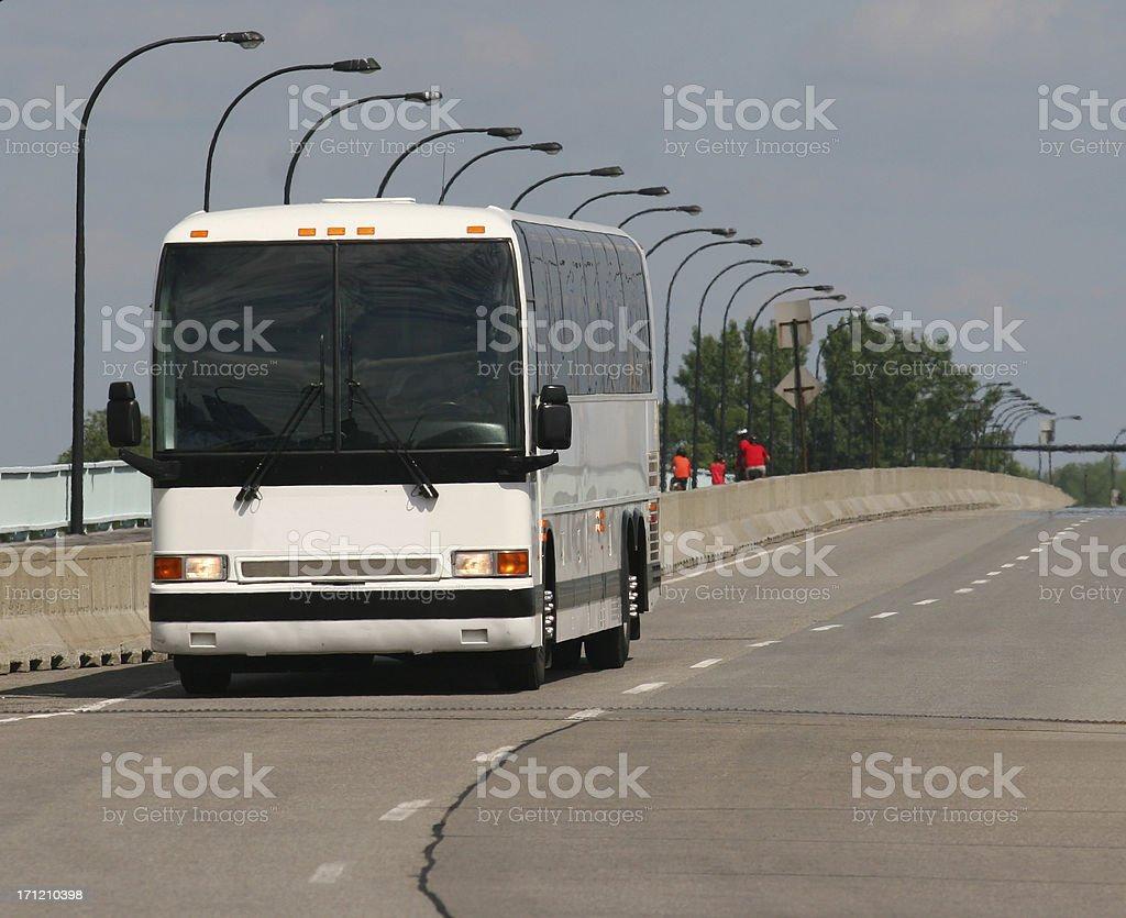 Inter-city Transporter stock photo