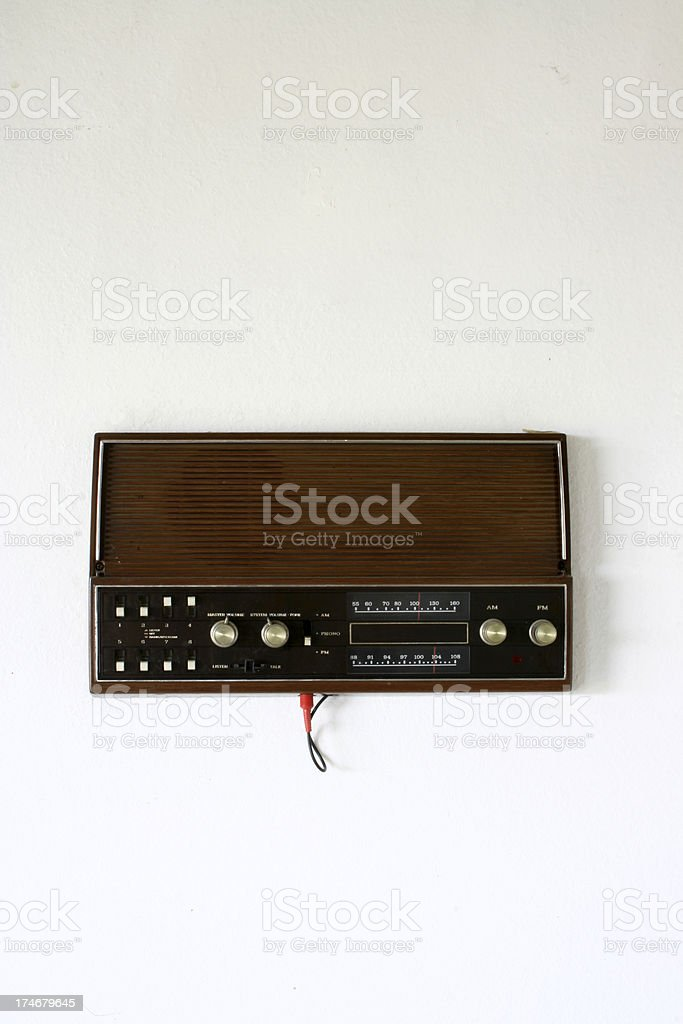 Intercom stock photo