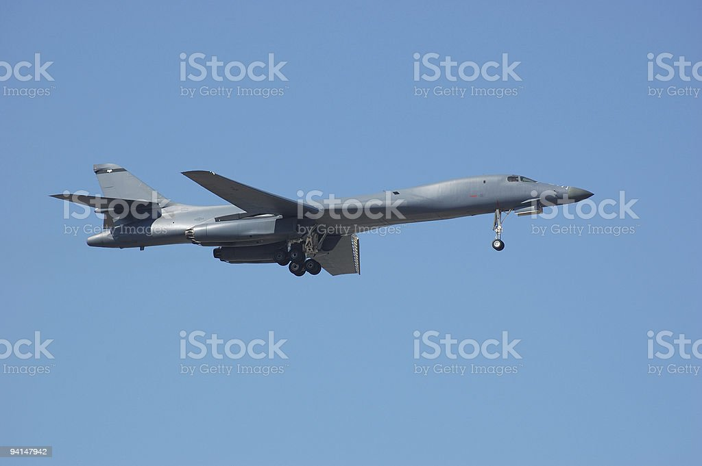 Intercontinental Bomber royalty-free stock photo