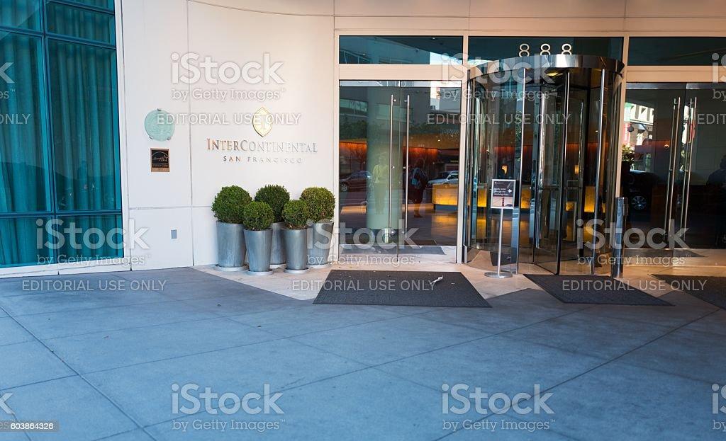 Intercontinental Sf stock photo