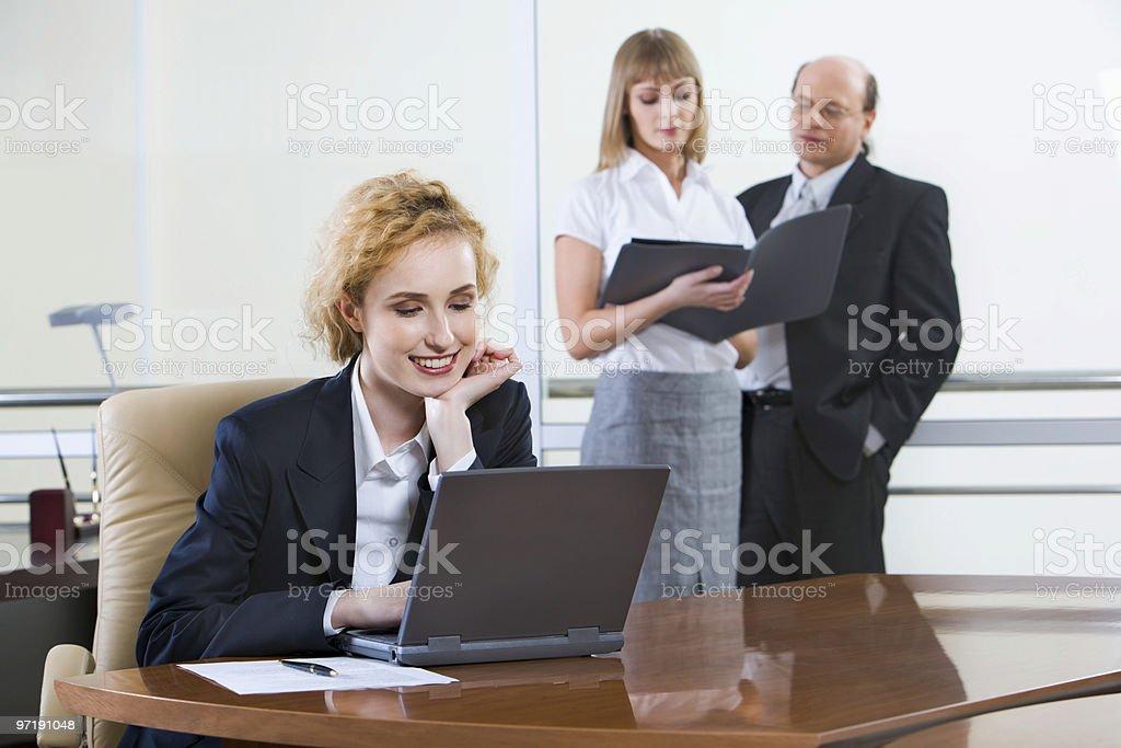 Interesting job royalty-free stock photo