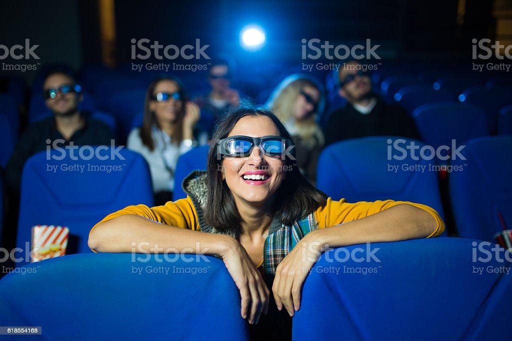 Interesting movie stock photo