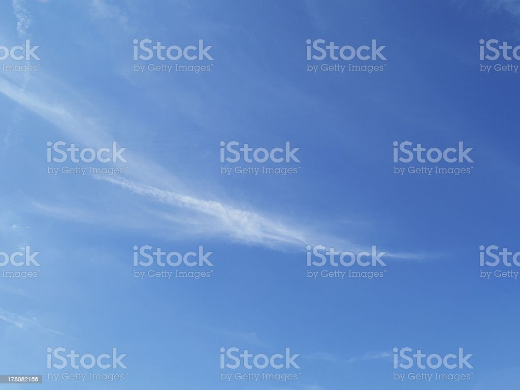 interesting sky stock photo