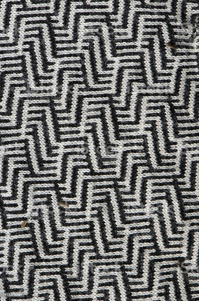 Interesting texture pattern of garment dress cloth royalty-free stock photo