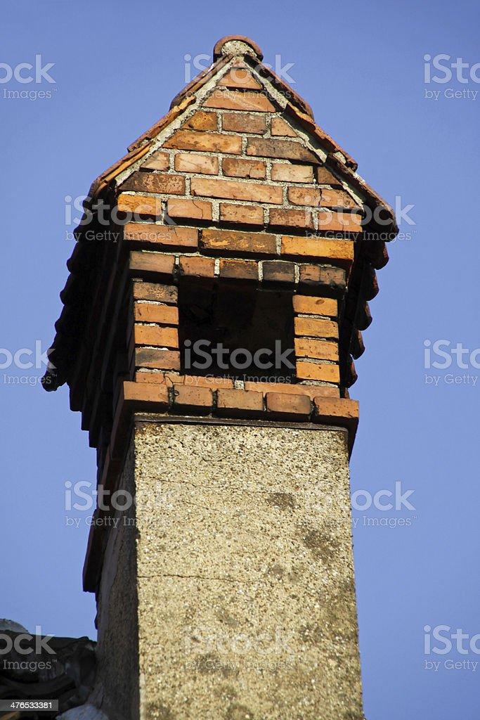 Interestingly chimney stock photo