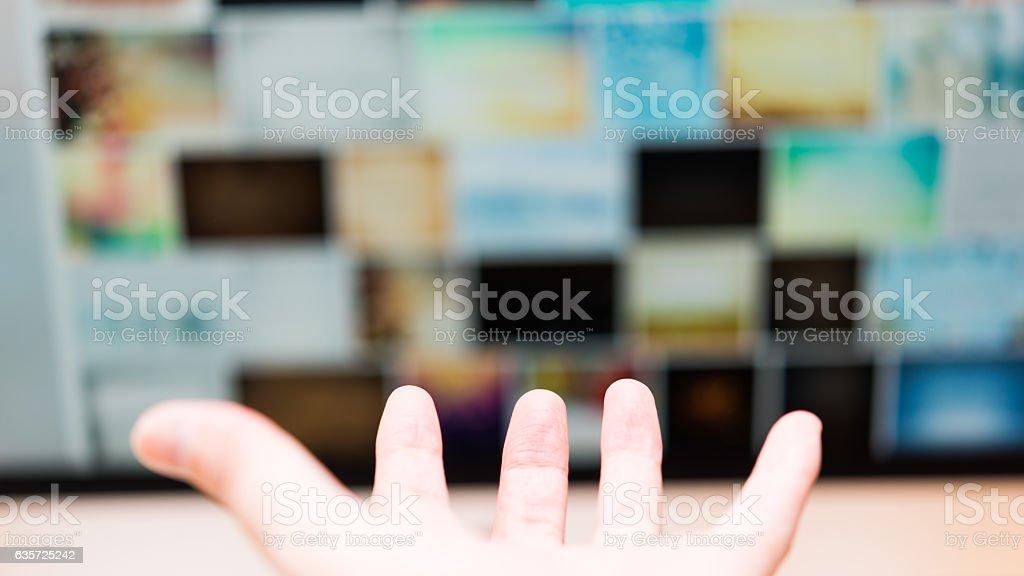 interface stock photo