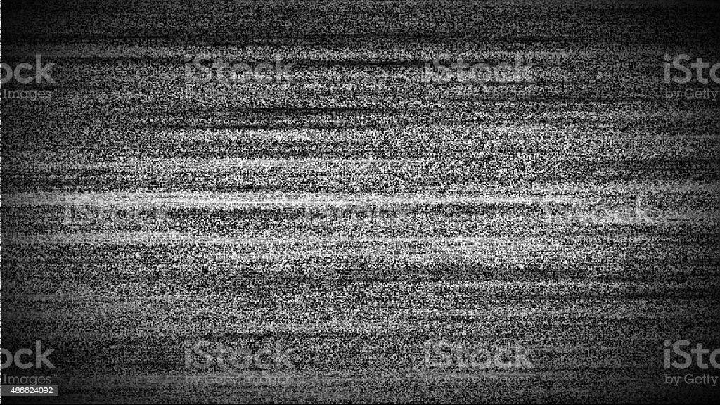TV interference background stock photo