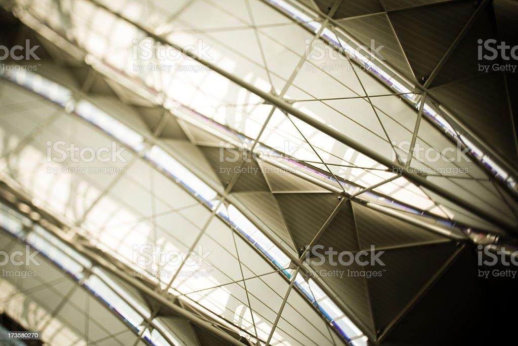 Interior Airport stock photo