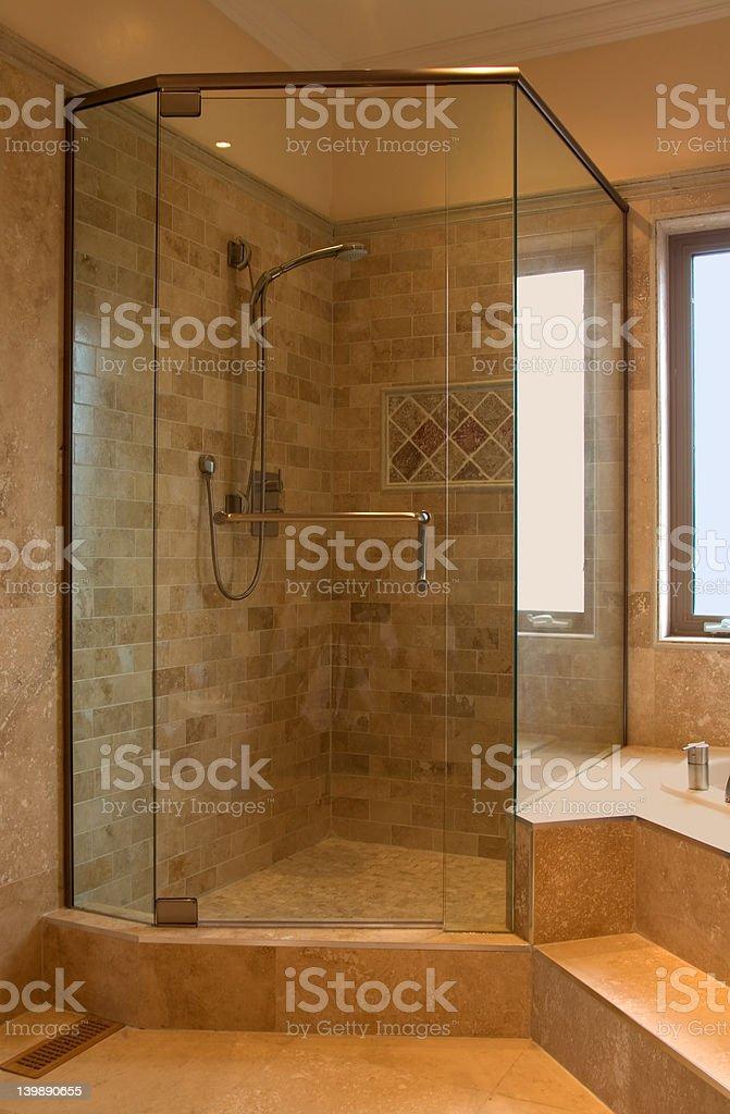 interior bathroom stock photo