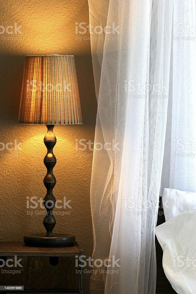 Interior bedroom royalty-free stock photo