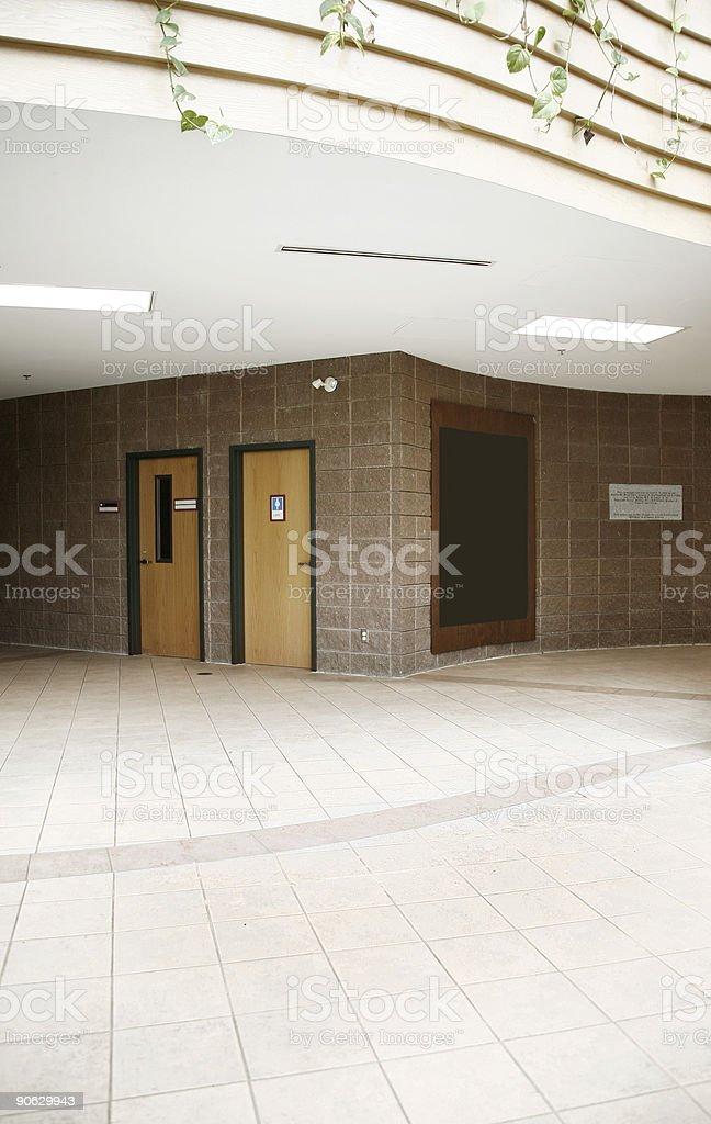 Interior Building royalty-free stock photo