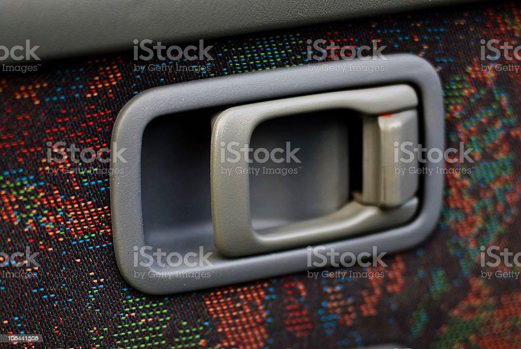 interior car handle royalty-free stock photo