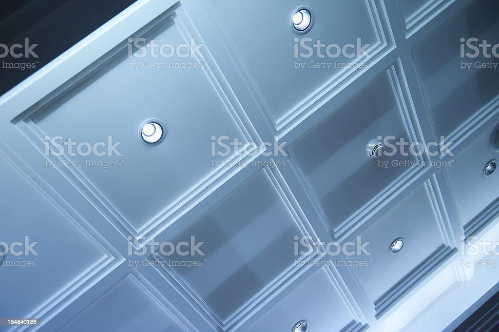 Interior Ceiling stock photo
