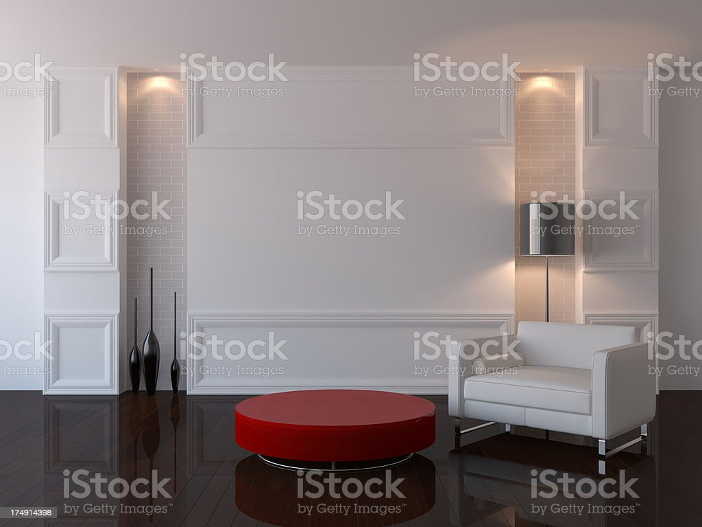 Interior concept apartment royalty-free stock photo