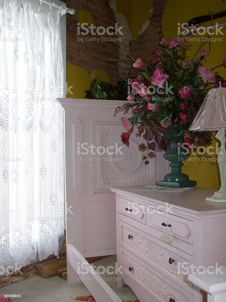 Interior Decorating - Window stock photo